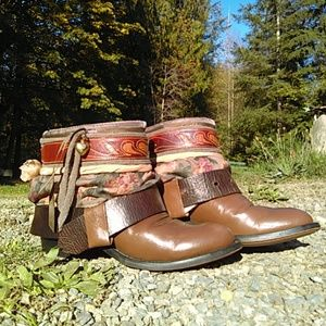 Upcycled Gypsy Boho Boots
